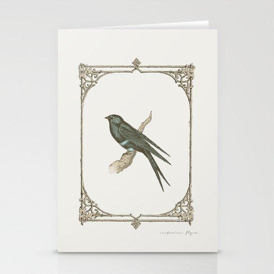 A Victorian Bird Stationery Card