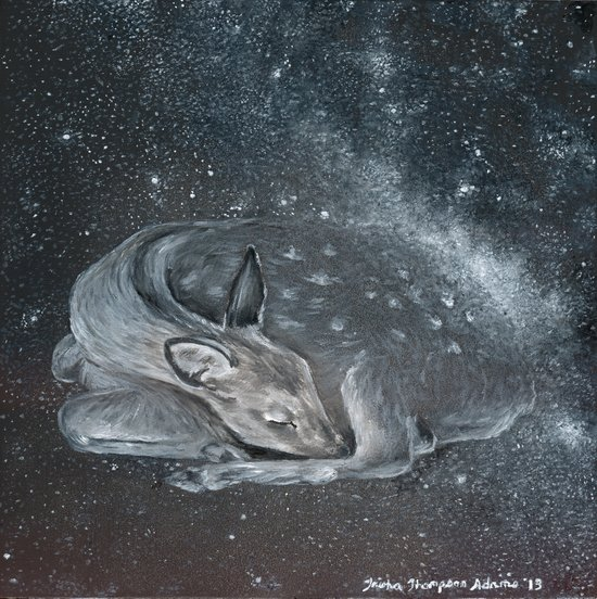 The Deer Spirit Art Print