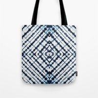 Diamonds Indigo Tote Bag