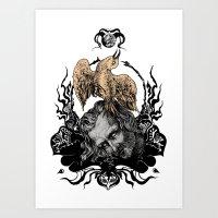 Spirit Of The Fire Art Print