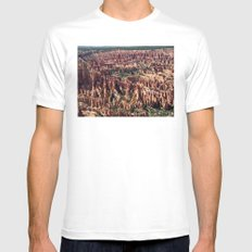 Bryce Canyon National Park SMALL White Mens Fitted Tee