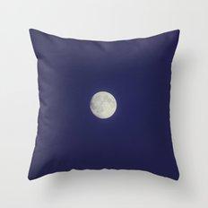 MOOON 2 Throw Pillow
