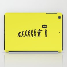 WTF? Evolution! iPad Case