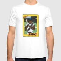 Wookiee of the Year Mens Fitted Tee White SMALL