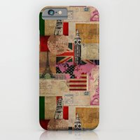 iPhone Cases featuring Travel Around the World by naturessol