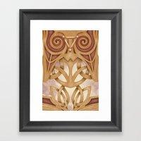 Raised by Mystics Framed Art Print