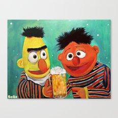 Hoppy Holidays Canvas Print