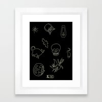 Halloween 2014 Framed Art Print