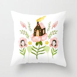 Throw Pillow - Treehouse - Esthera Preda