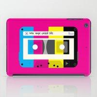 CMYK Mix tape called life iPad Case