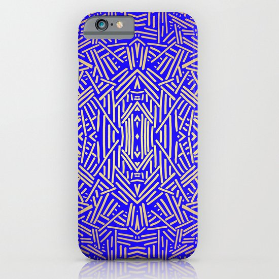 Radiate (Yellow/Ochre Royal) iPhone & iPod Case