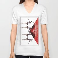 envelope bloody ballet Unisex V-Neck