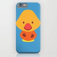 Blue birdie iPhone 6 Slim Case
