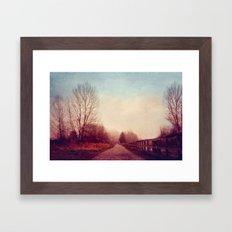 Dont Look Back Framed Art Print