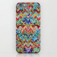 iPhone & iPod Case featuring Wild Chevron- Indian Style by Karma Cases