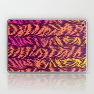 Laptop & iPad Skin featuring Fur Stripes by Gimetzco's Damaged G…