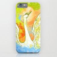 Swan Splash iPhone 6 Slim Case