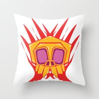 Vampire Voodoo Throw Pillow
