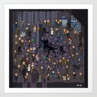 Super Aliens³ Resurrect… Art Print