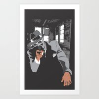The Gangster Art Print