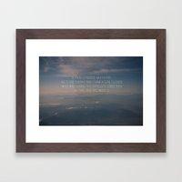 The Opposite Direction Framed Art Print