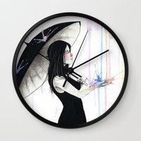 Pluviophile Wall Clock