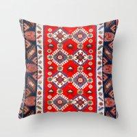 Carpet Pattern Throw Pillow
