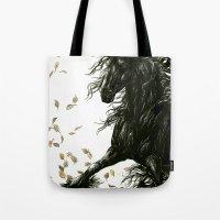 Autumn Friesian Tote Bag