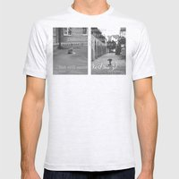 Kids... Mens Fitted Tee Ash Grey SMALL