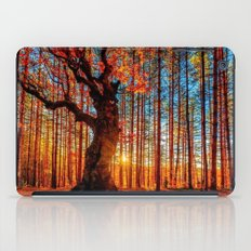 Majestic woods iPad Case