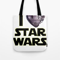 Love Star Wars  Tote Bag