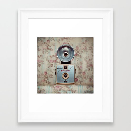 Imperial Satellite 127 Framed Art Print