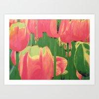 Tulip Tantrum Art Print