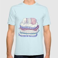 sweet dreams Mens Fitted Tee Light Blue SMALL