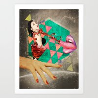 Sensasian III: Shaken, N… Art Print