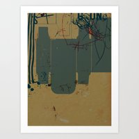 GONE #4 Art Print