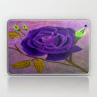 Purple Rose  Laptop & iPad Skin