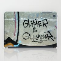 Glitter and glamour iPad Case
