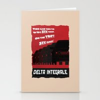 Delta Integrale Stationery Cards
