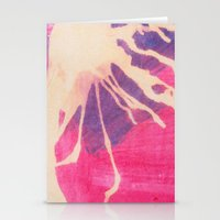 Pink And Purple Stationery Cards