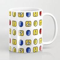 Coins, Boxes and Power ups, Oh my! Mug
