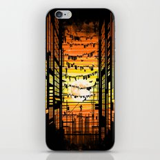 the wires iPhone & iPod Skin