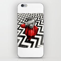 Homage to Twin Peaks - Fire walk with me iPhone & iPod Skin