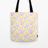 I Heart Donuts Tote Bag
