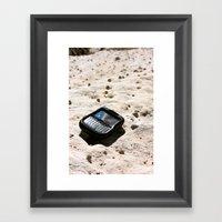 Blackberries And Sandsto… Framed Art Print