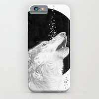Black Wolf iPhone 6 Slim Case
