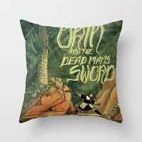 Orin And The Dead Man's … Throw Pillow