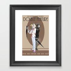 TPoH: Double Feature Framed Art Print