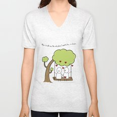 When I'm With You... Unisex V-Neck