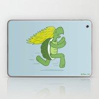 Tortoise and that Hair Laptop & iPad Skin